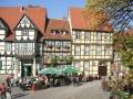 DSCF3145 Quedlinburg Blick aufs Käsekuchencafe