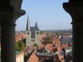 DSCF3170 Quedlinburg Blick vom Sternenkiekerturm auf Marktkirche